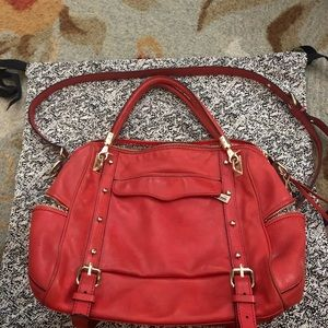 Rebecca Minkoff bag. Orange. Used.